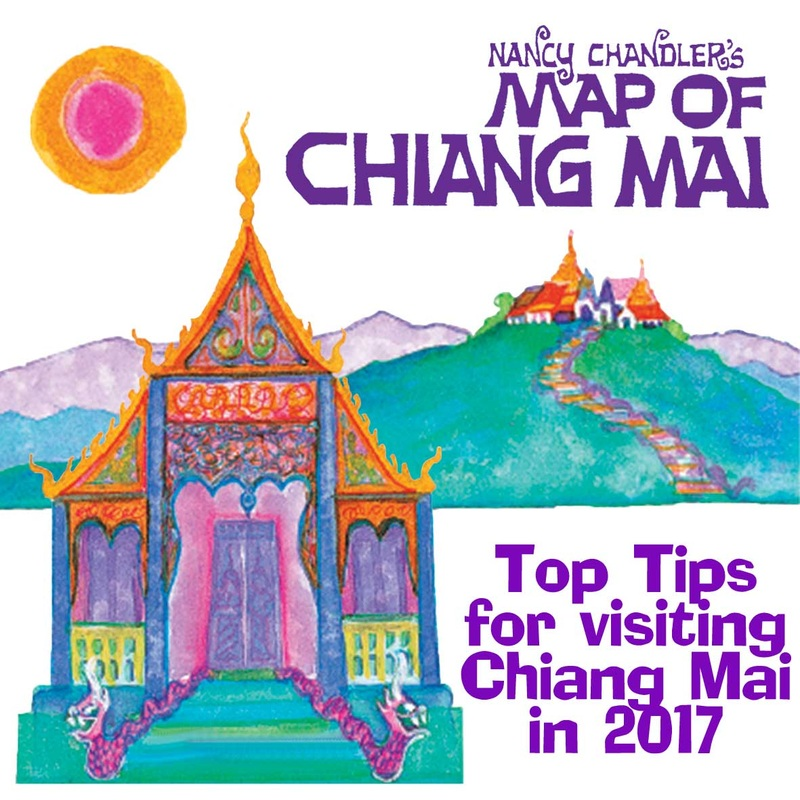 Where to Buy Nancy Chandlers Map in Chiang Mai