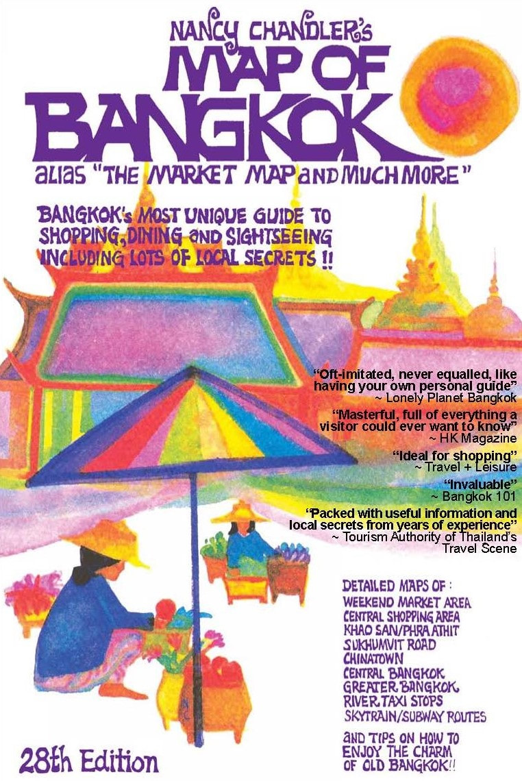 Nancy Chandler\'s Map of Bangkok (Paper)