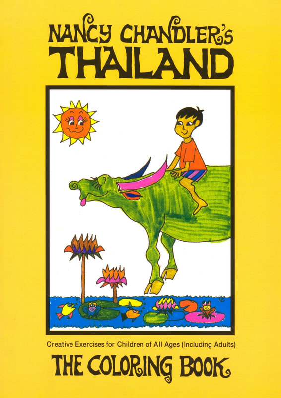 Nancy Chandlers Thailand Coloring Book Digital Edition