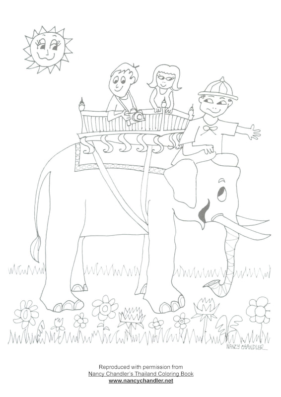 Nancy Chandler\'s Free Coloring Downloads