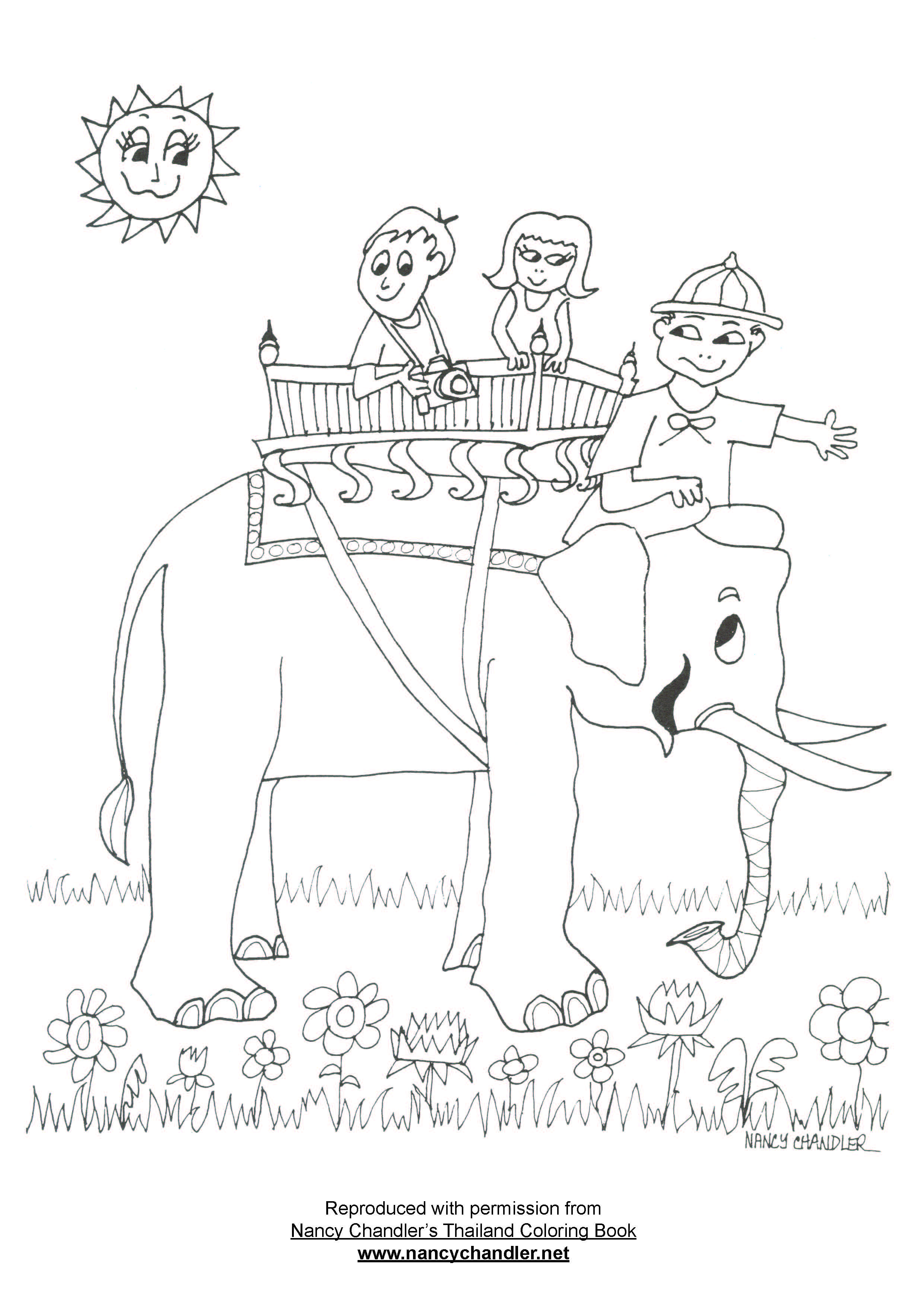 Awareness Of Harsh Conditions Affecting Elephants In Camps Came To The Fore While This Image Remains One Our Most Popular Coloring Book Pages
