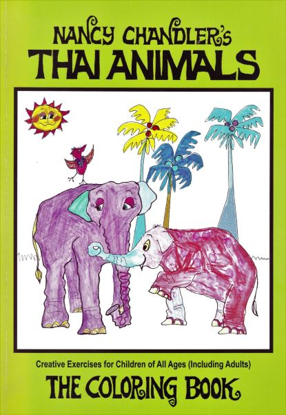 Nancy Chandler\'s Thai Animals Coloring Book