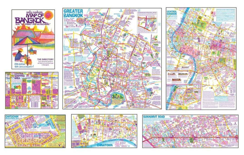 Nancy Chandlers Map of Bangkok Digital PDFof